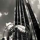 Columbus Circle Globe by Dilshara Hill
