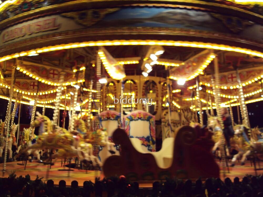 xmas carousel glasgow 2010 by biddumy