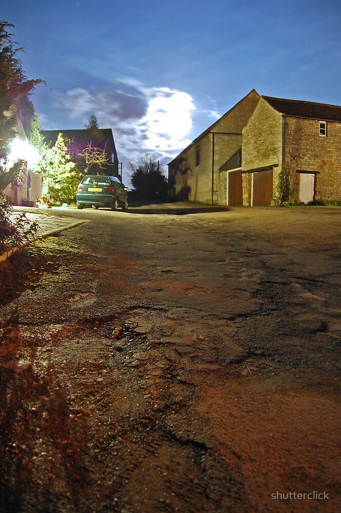 Full Moon - Ketton by shutterclick