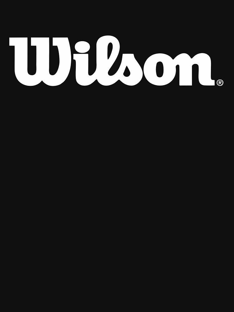 BEST SELLER Wilson Logo Merchandise by JeffryGomez