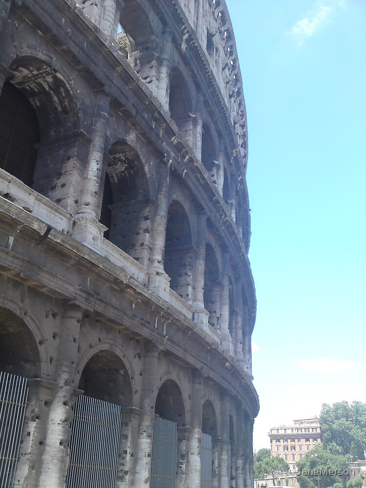 Colosseum in Rome by JaneMerson