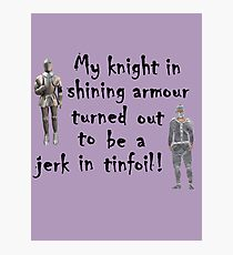 My Knight Photographic Print