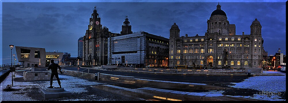 PANORAMA VIEW LIVERPOOL WATERFRONT by shaun-e