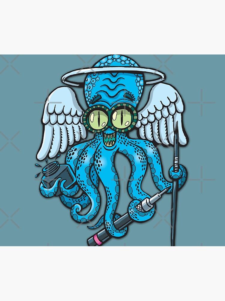 Japanese octopus tattoo artist by duxpavlic