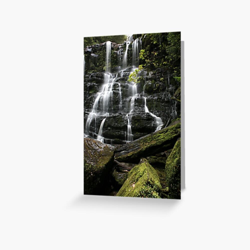 Nelson Falls, Tasmania, Australia Greeting Card
