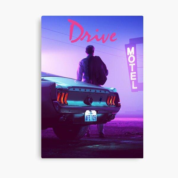 Drive - Sunset Canvas Print