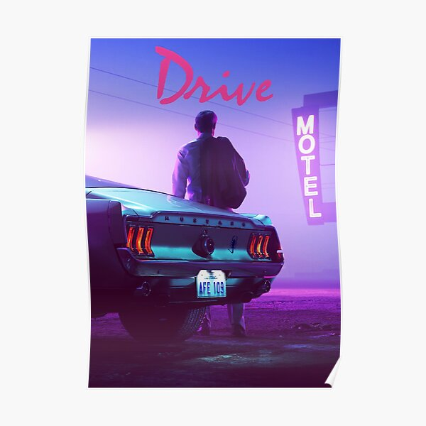Drive - Sunset Poster
