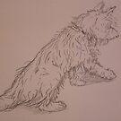 terrier sketchbook 2 Nobodies DOG by leunig
