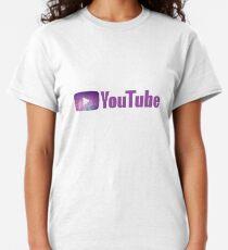 Cute YouTube Logo Classic T-Shirt