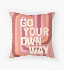 Go your own way Floor Pillow