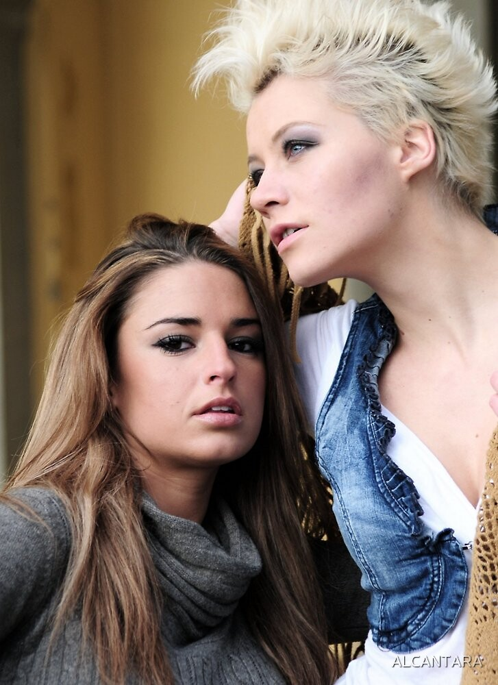 CAROLINE  and  ALISA by ALCANTARA