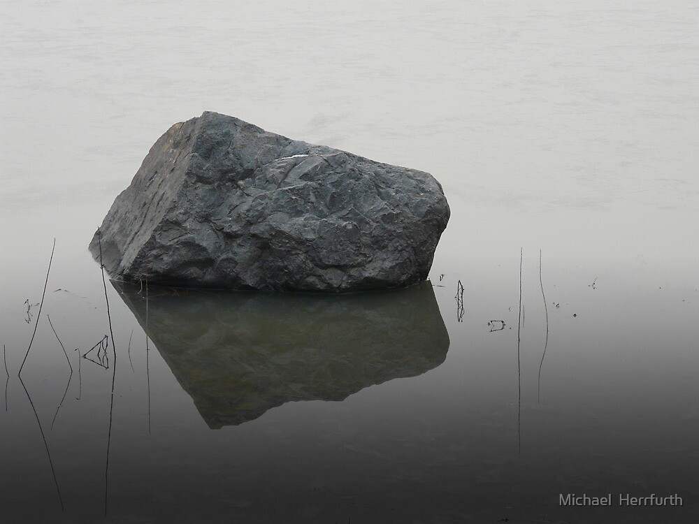 Rock on Ice by Michael  Herrfurth