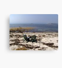 Time Out on a Beach Canvas Print