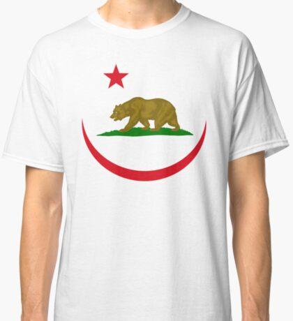 Californian Murican Patriot Flag Series 2.0 Classic T-Shirt