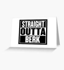 """Straight Outta Berk"" Greeting Card"
