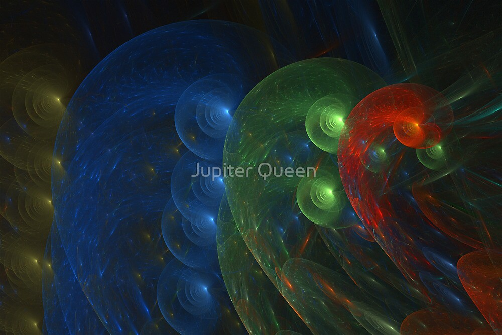 COLORFUL ABSTRACT  by Jupiter Queen