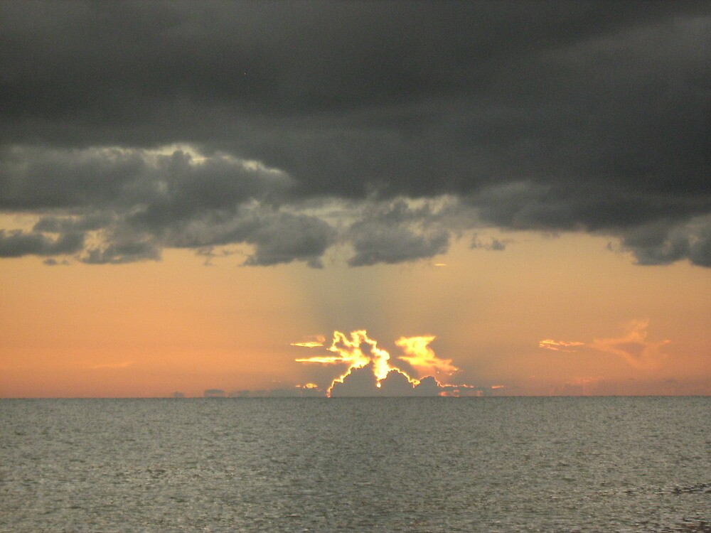 terrific sunset by ceciperu