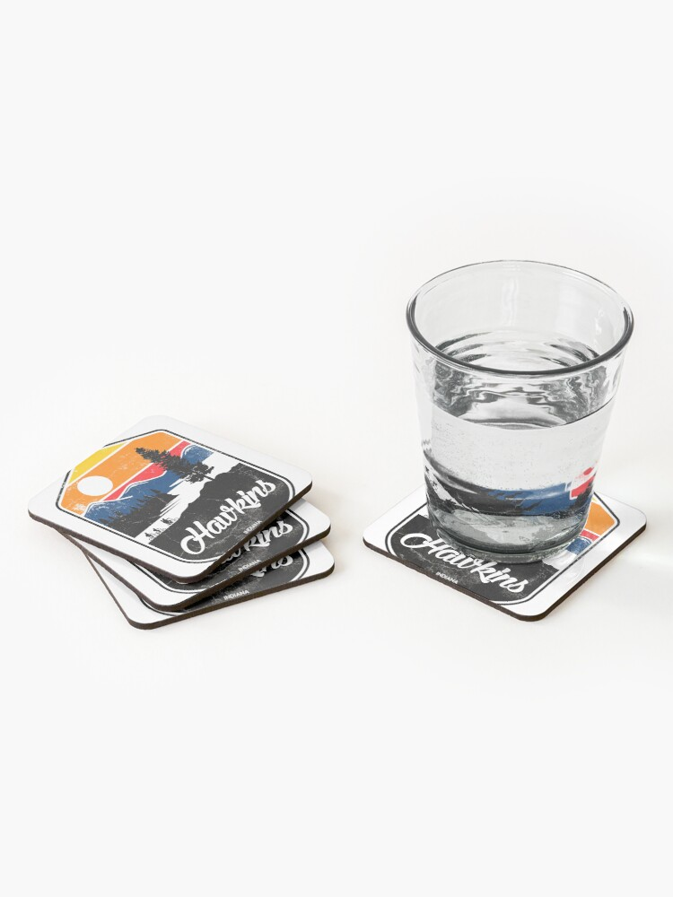 Alternate view of hawkins Coasters (Set of 4)