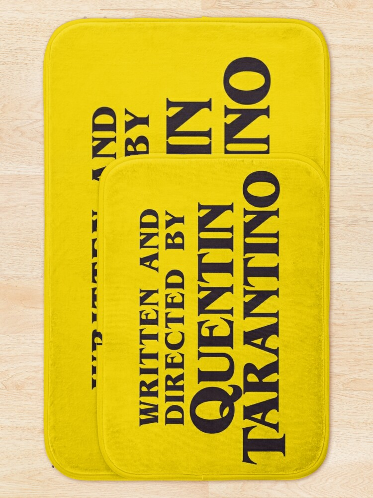 Alternate view of Written and Directed by Quentin Tarantino Bath Mat