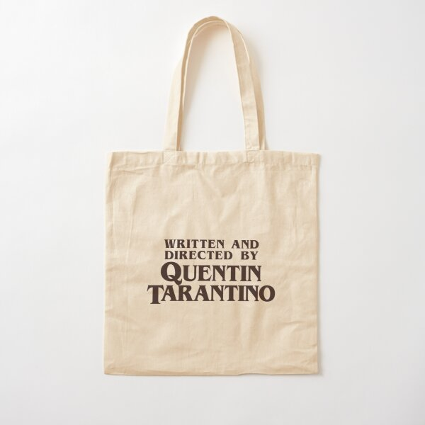 Written and Directed by Quentin Tarantino Cotton Tote Bag