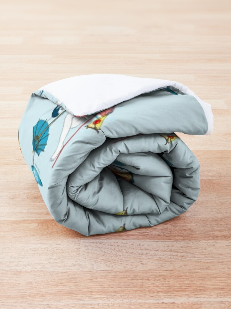 Alternate view of Time to Cool Off Comforter