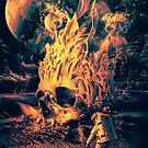Space Skull by RIZA PEKER