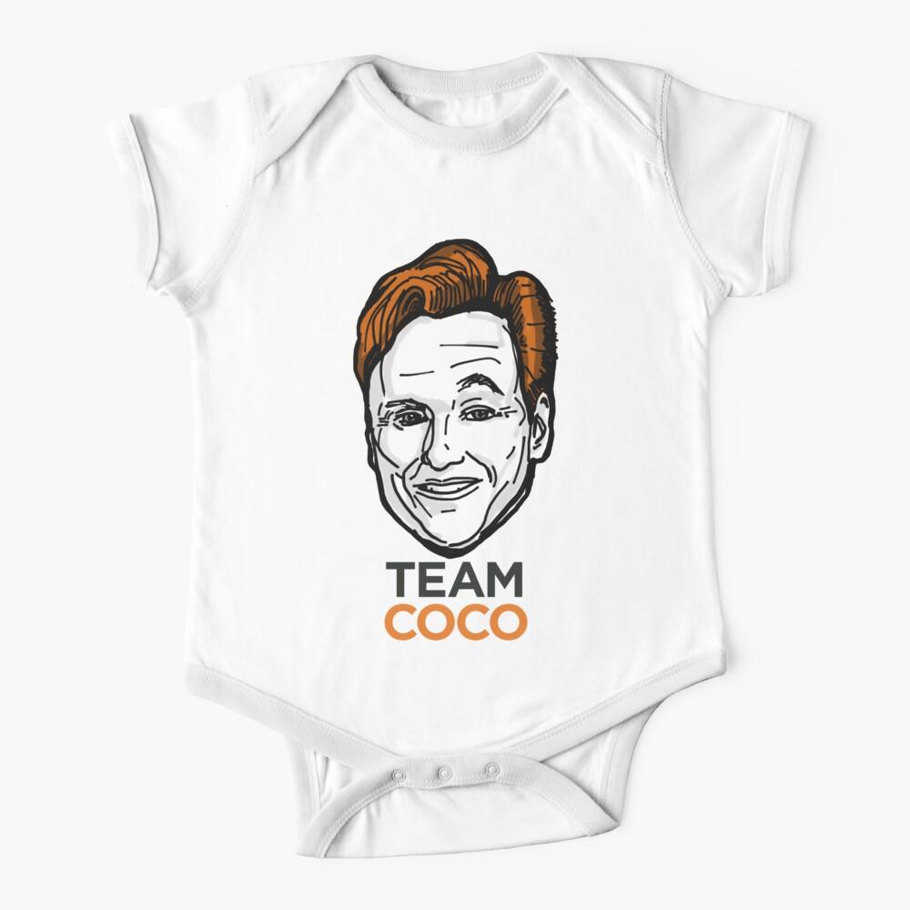 Conan O'Brien Team Coco Smiles & Eyebrows Baby One-Piece