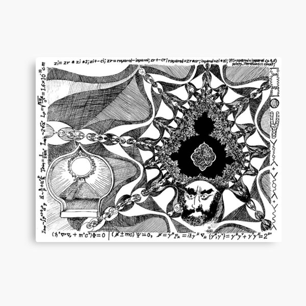 2006 Cartoon of Prophet Mohammad Blessed be his Name Canvas Print