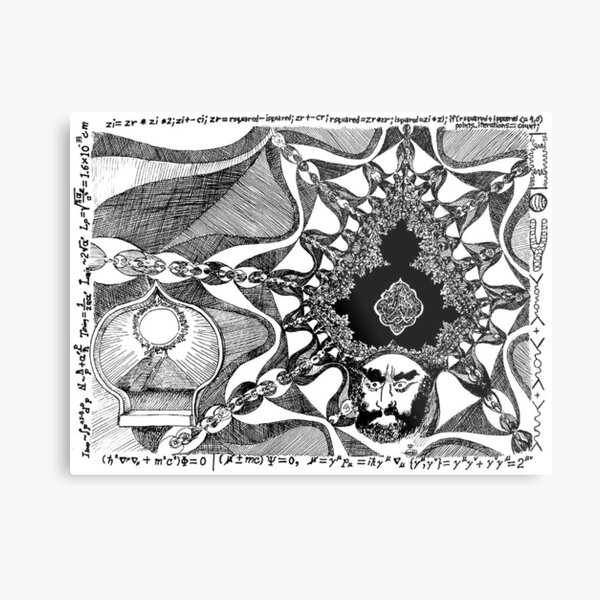 2006 Cartoon of Prophet Mohammad Blessed be his Name Metal Print
