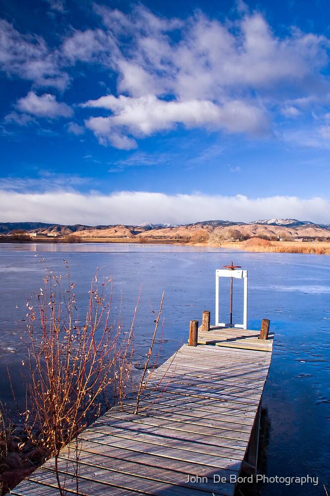 The Winter Dock by John  De Bord Photography