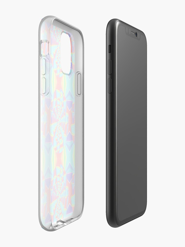 Coque iPhone « Roue de rotation arc-en-ciel », par JLHDesign