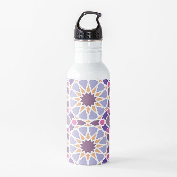 geometric ornament, pattern Water Bottle