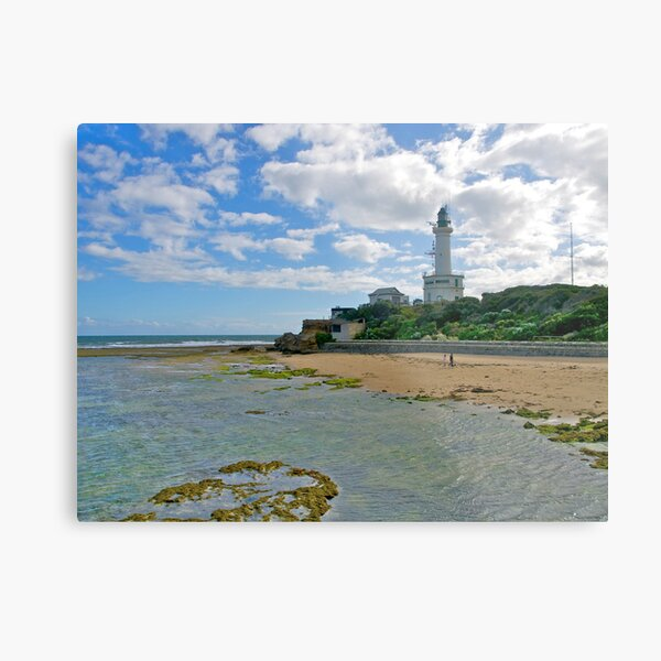 Lighthouse, Point Lonsdale, Victoria. Metal Print