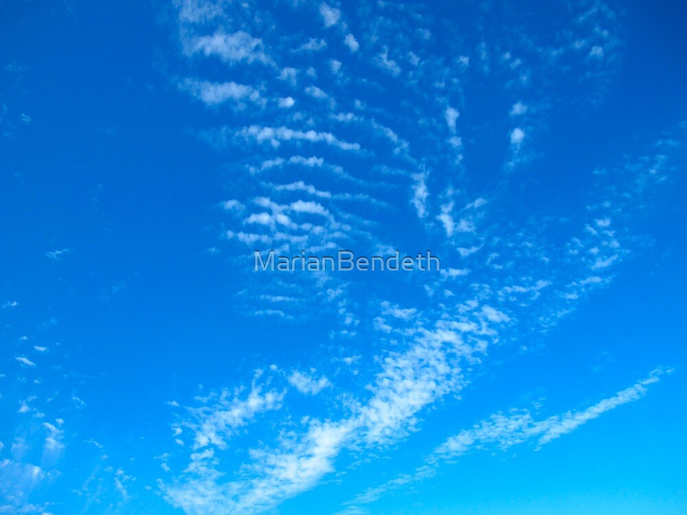 Spiralling Sky by MarianBendeth