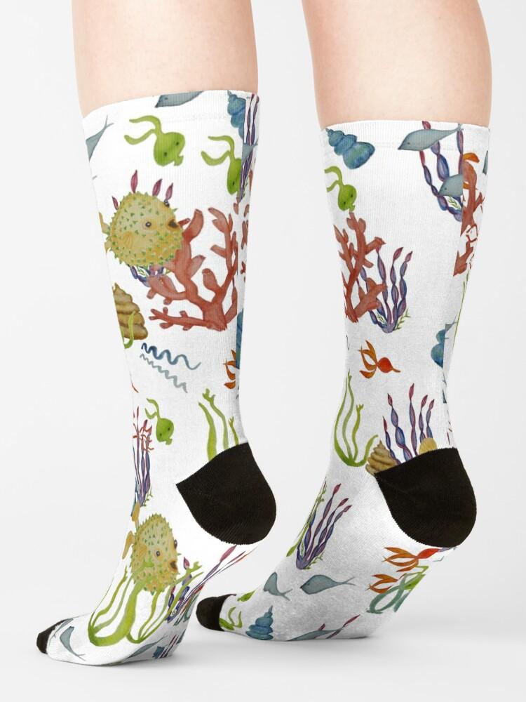 Alternate view of Under The Sea Socks