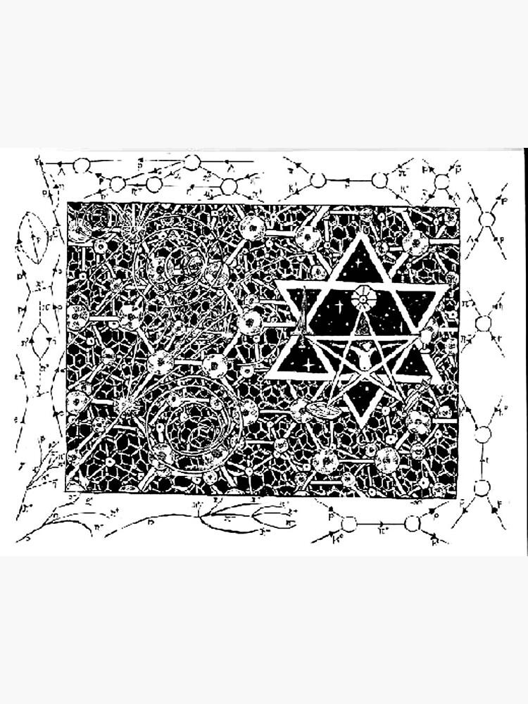1996 Quantum Physics Hexagram by dajson