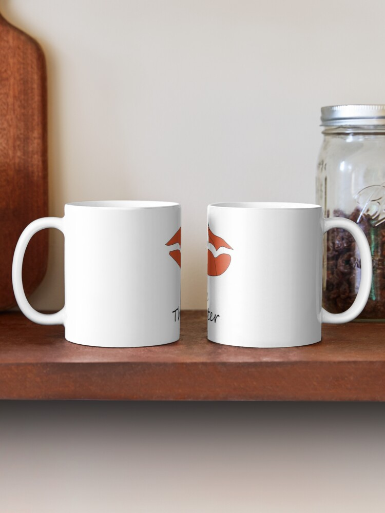 Alternate view of Steve The Oyster Cartoon Mug