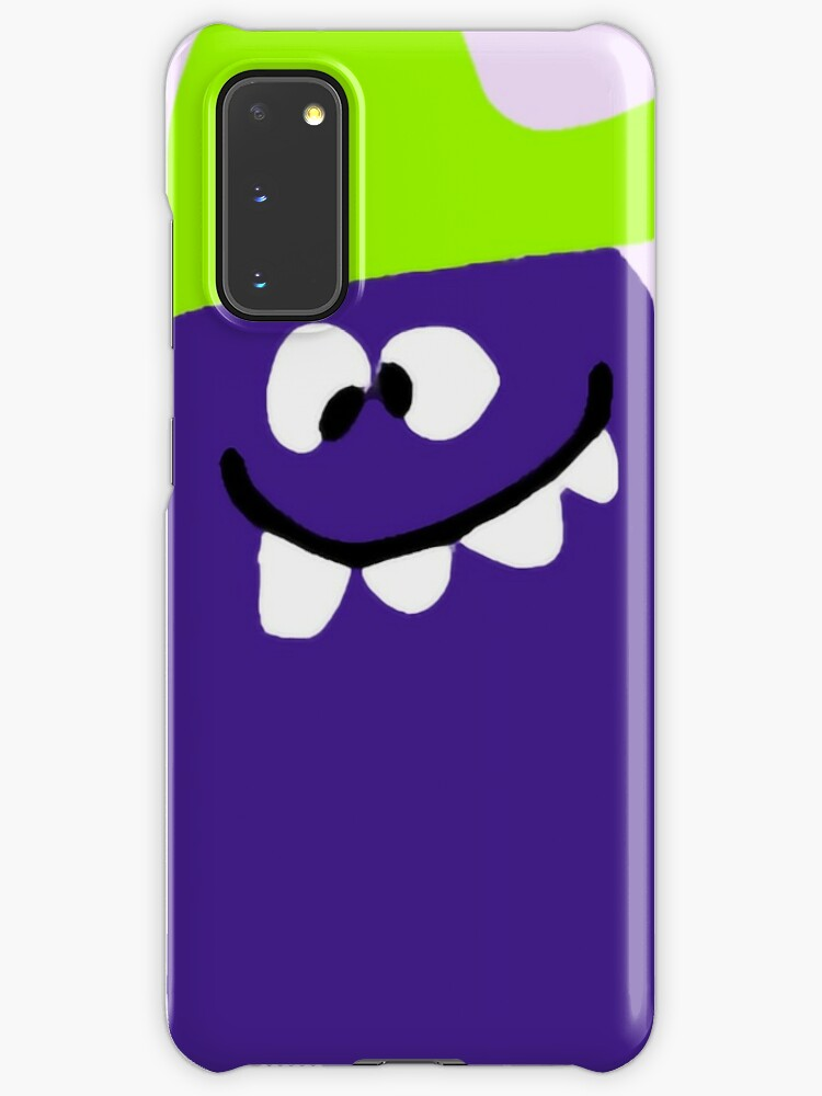 Funny Face Drink Mix Goofy Grape Case Skin For Samsung Galaxy By Offsetvinylfilm Redbubble