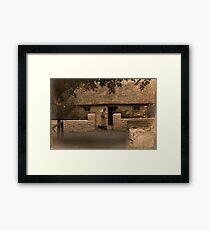 Granny's Cottage in County Clare Framed Print