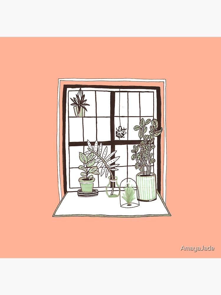 Plant Window by AmayaJade
