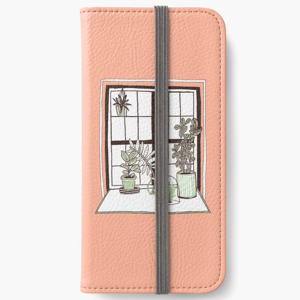 Plant Window iPhone Wallet