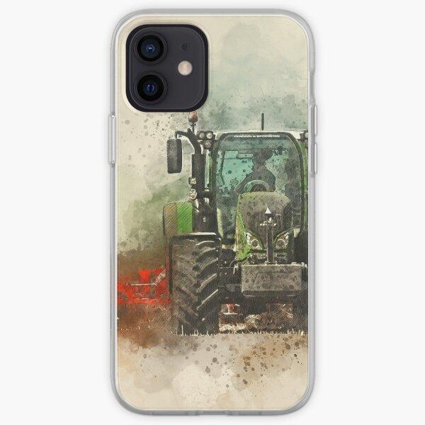 Coque iPhone « Greffe de tracteur Fendt » par kissablecrafts
