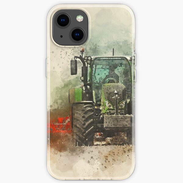 Fendt Tractor Grafting iPhone Soft Case