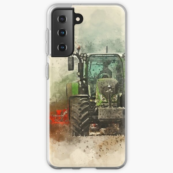 Fendt Tractor Grafting Samsung Galaxy Soft Case