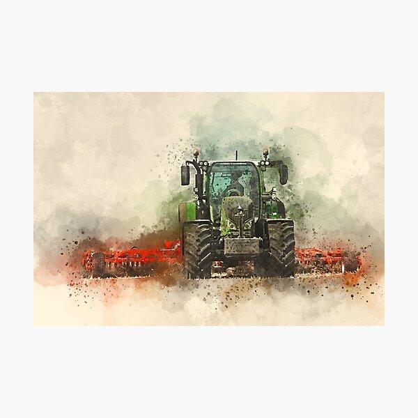 Greffe de tracteur Fendt Impression photo
