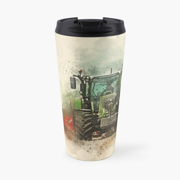 Fendt Tractor Grafting Travel Mug