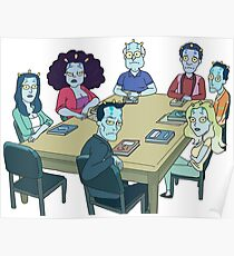 Rick and Morty: The Study Group Poster