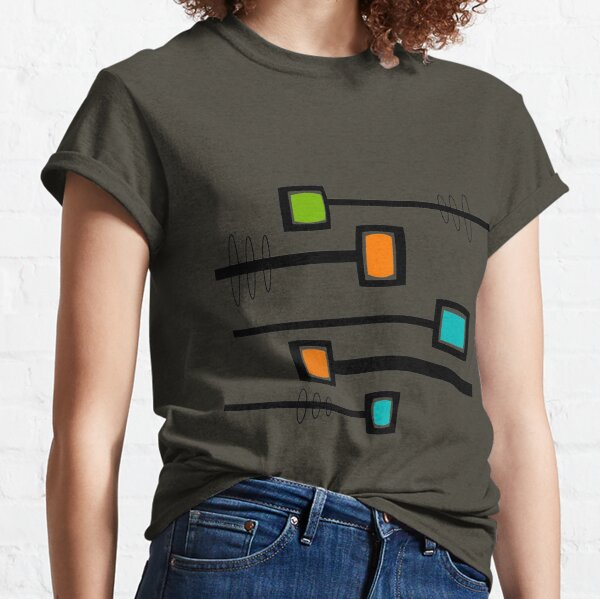Mid-Century Modern Abstract Classic T-Shirt