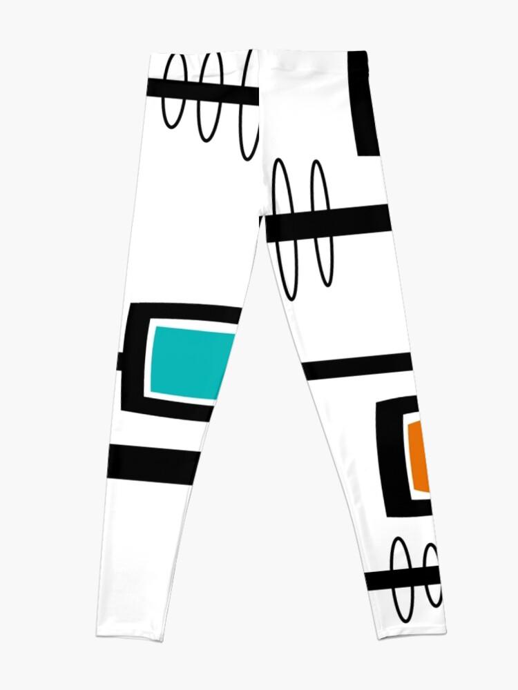 Alternate view of Mid-Century Modern Abstract Leggings