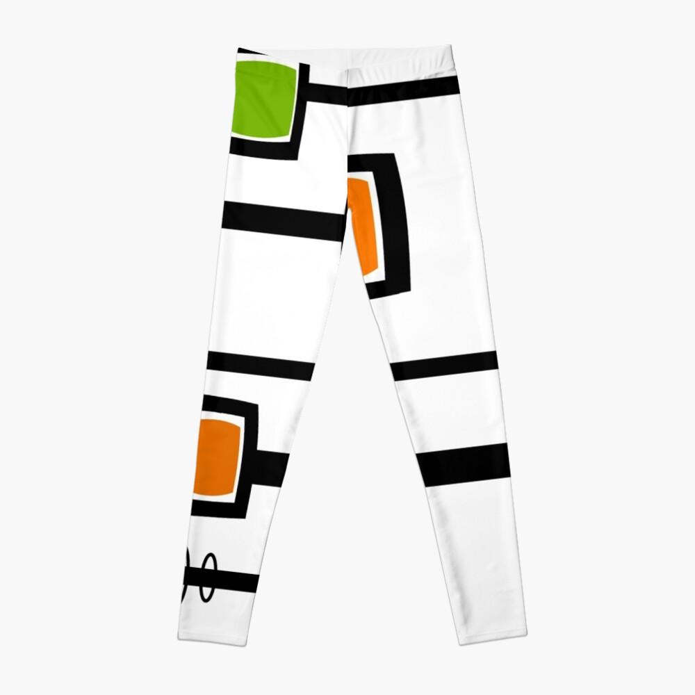 Mid-Century Modern Abstract Leggings